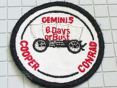 Careful Geminis Cooper Conrad 8 Tage Oder Büste Raumfahrt Aufnäher (#4704) Bright Luster