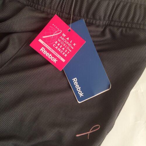 New Bnwt Ladies Reebok Gym Capri Trousers Size 8 Breast Cancer Awareness
