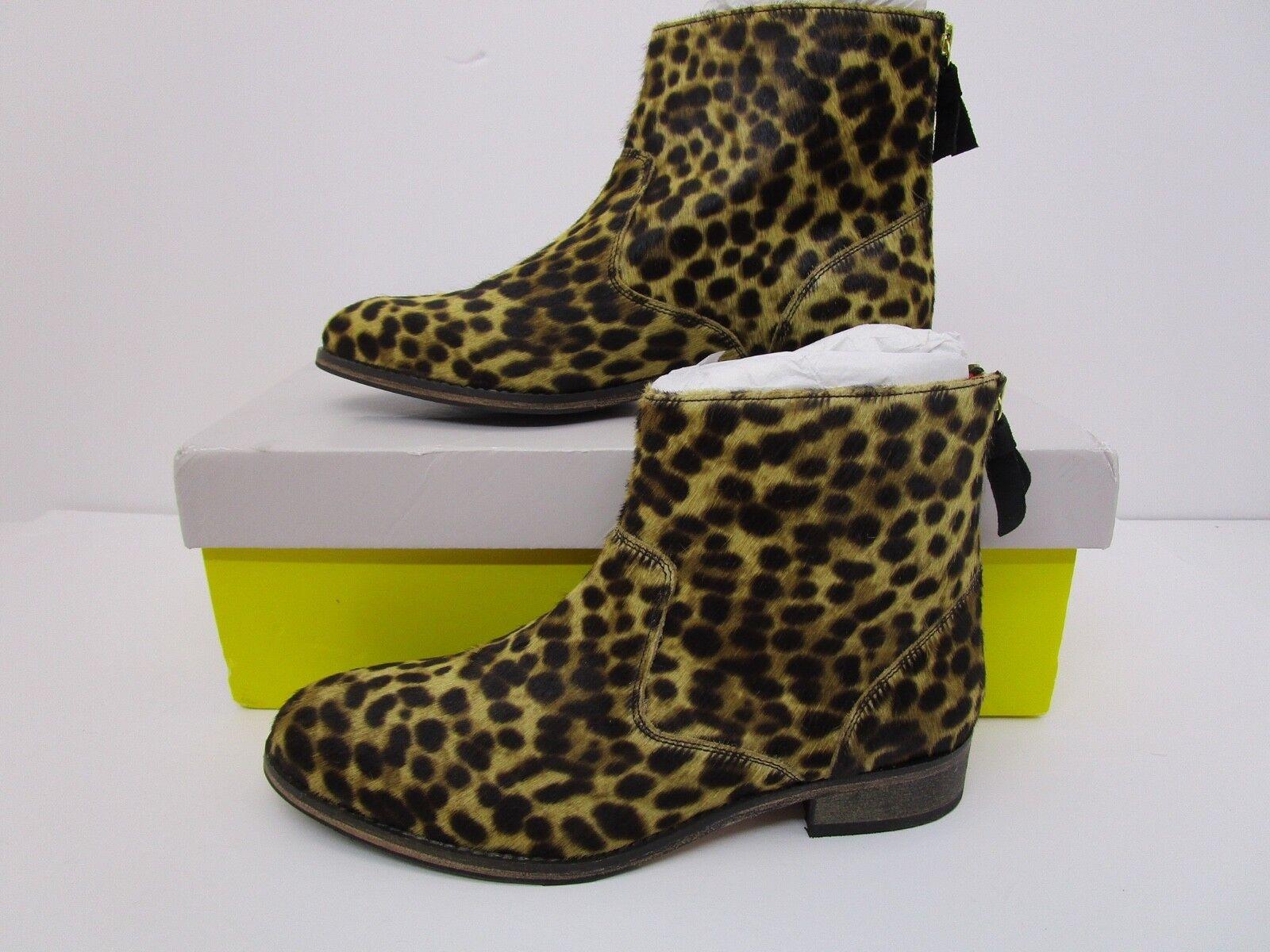 Boden Kingham Tobillo botas EU Estampado De Leopardo Leopardo Leopardo Talla 39 EE. UU. 8.5 4b5b72