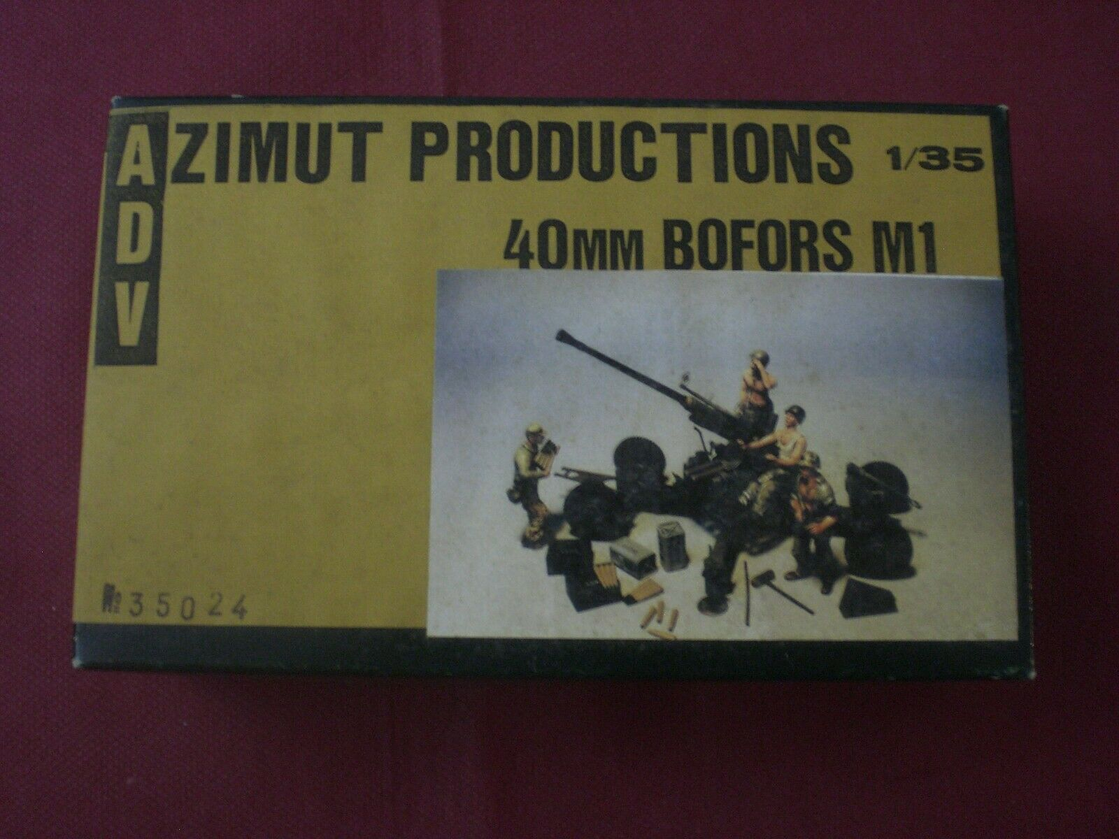 40mm Bofors m1-Scale 1 35 ADV azimuth Productions