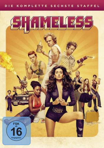 1 von 1 - Shameless - Staffel 6  [3 DVDs] (2016) Neuwertig William H. Macy