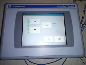 ALLEN-BRADLEY-PANELVIEW-PLUS-700-2711P-RP1-2711P-T7C4D1-A-HMI-TOUCH-PANEL