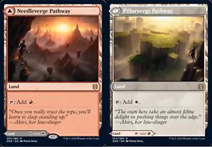 4x Needleverge Pathway Pillarverge Pathway Zendikar Rising MtG MasteringtheGame
