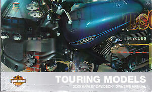 2009 harley touring models owner s owners owner manual book guide rh ebay com 2008 road king owners manual 2009 harley davidson road king classic owners manual
