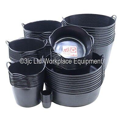 Genuine Gorilla Tub Trug Flexible Storage Carrying Bucket Feeding Water Garden