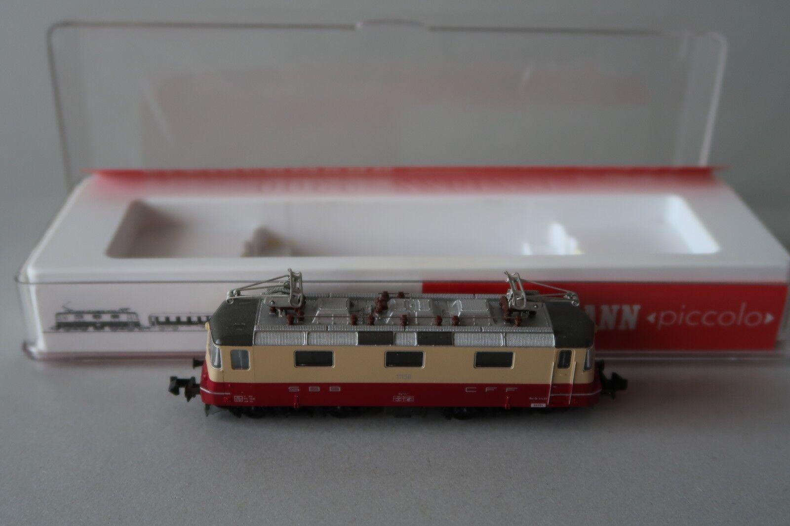 Fleischmann N 7341 E - Lok BR 11158 SBB  (DV007-69S5 1)  | Modernes Design