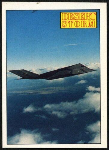C959 Lockheed F-117A Stealth Fighter #18 Desert Storm 1991 Merlin Sticker