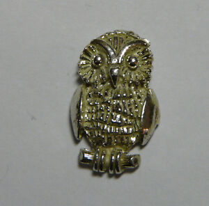 Kauz Pin Aus 925 Silber Tausendstel Pins To Rank First Among Similar Products Jewelry & Watches