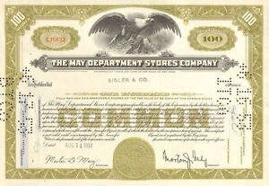 The-May-Department-Stores-Company-gt-New-York-stock-certificate-gt-now-Macy-039-s