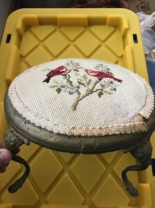 Vintage-Bird-Foot-Stool