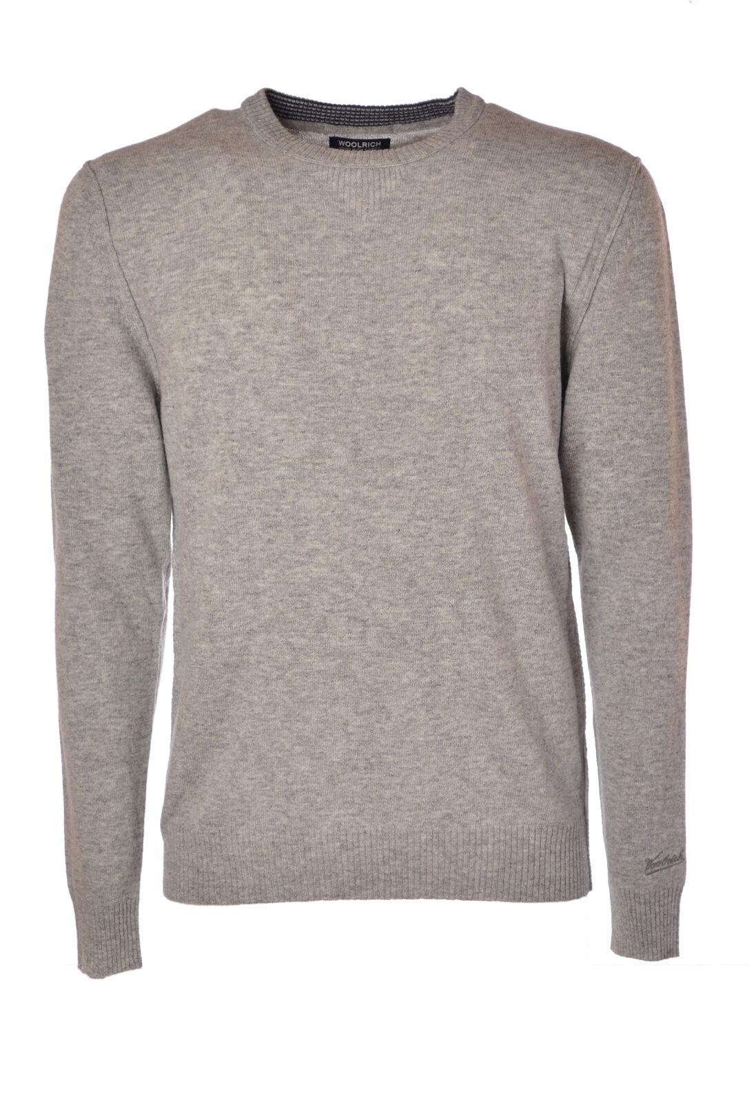 Woolrich  -  Sweaters - Male - Grau - 4215027A185214