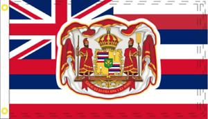 State of Hawaii Hawaiian 100D Woven Poly Nylon 2x3 2/'x3/' Flag Banner Grommets