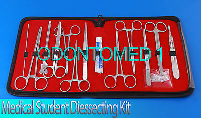 Medical Students Anatomy Biology Dissection Kit with Case