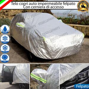 EMMEA TG L Telo COPRIAUTO Copri Auto Felpato Compatibile con Seat Leon 2007 Universale Impermeabile Cover Anti Strappo Lavabile AntiGraffio Taglia L 482X196X120CM