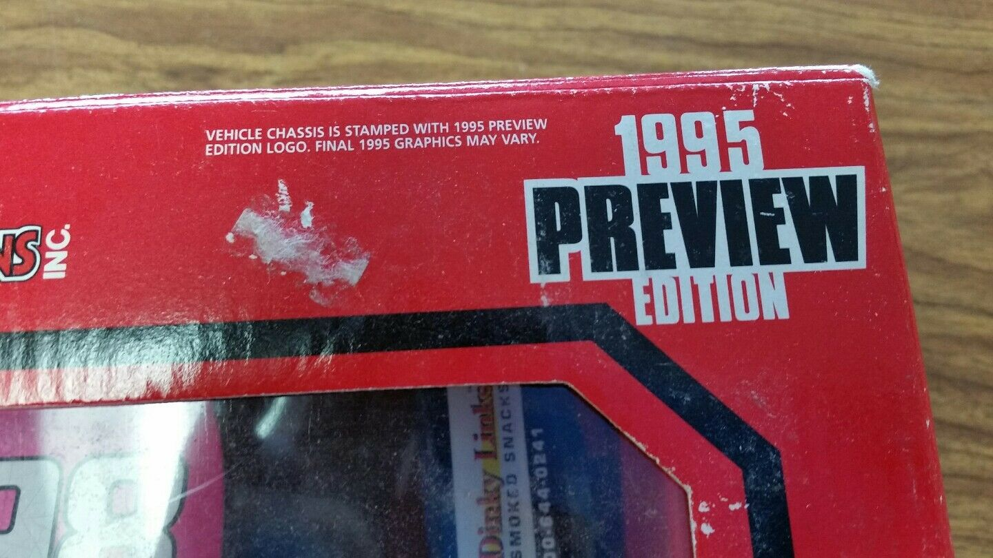 1995 Preview Preview Preview Edition Racing Champions 1 24 Jeremy Mayfield Nascar 2378f4