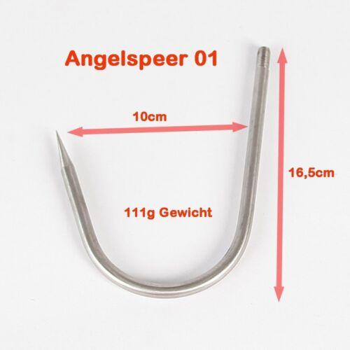 Gaff Angelgaff Fischgreifer Harpunenspitze Speer Harpune Angelspeer 01