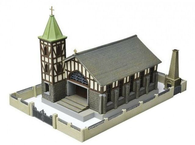 Tomytec N Scale 1/150 The Building Collection 052-2 Church C2