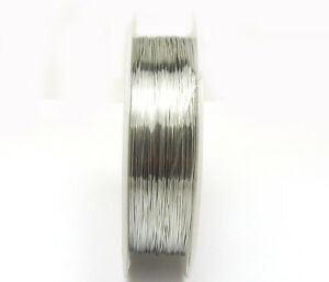 New-1roll-23M-special-copper-wire-craft-wire-bead-wrap-jewelry-silver