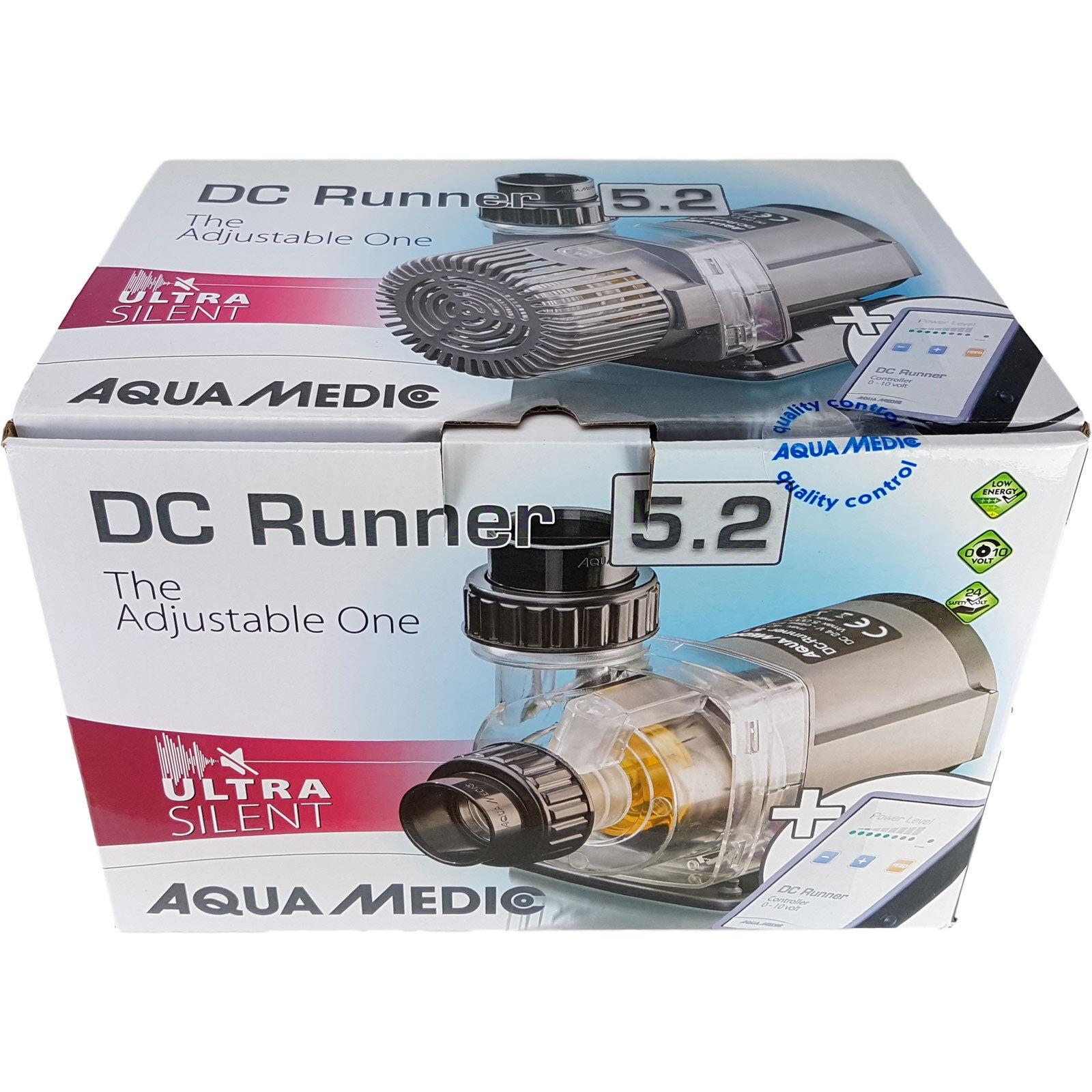 Aqua-Medic DC Runner 5.2 regelbare Universalpumpe für Aquarien 5.000 l h