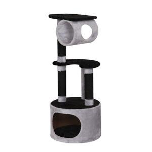Ebi Cat Tree Comfort Oxford 45x45x108cm Gris / Noir