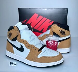 301b94a6e959d6 Nike Air Jordan Retro 1 High OG Rookie of the Year Gold Harvest ...