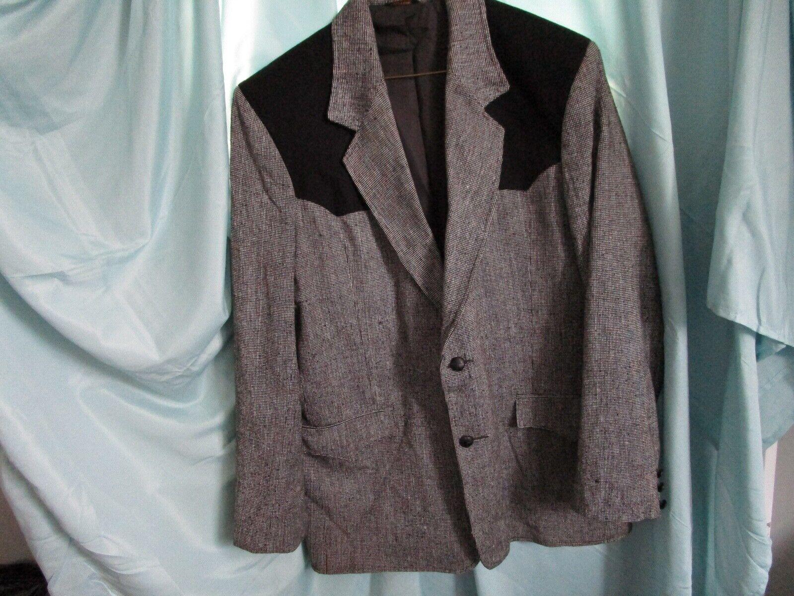 Vintage Pioneer Wear Western Suit Jacket Blazer B… - image 2