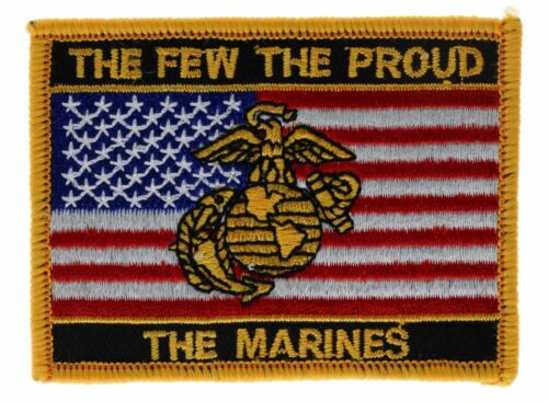Marines The Few The Proud 3 inch Patch AK F2D22L