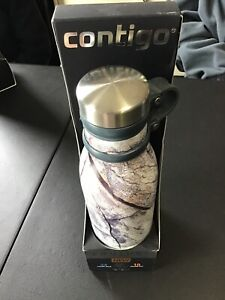 NEW-Contigo-Couture-Collection-20-oz-Water-Bottle-Hot-Cold-Matterhorn-Patt