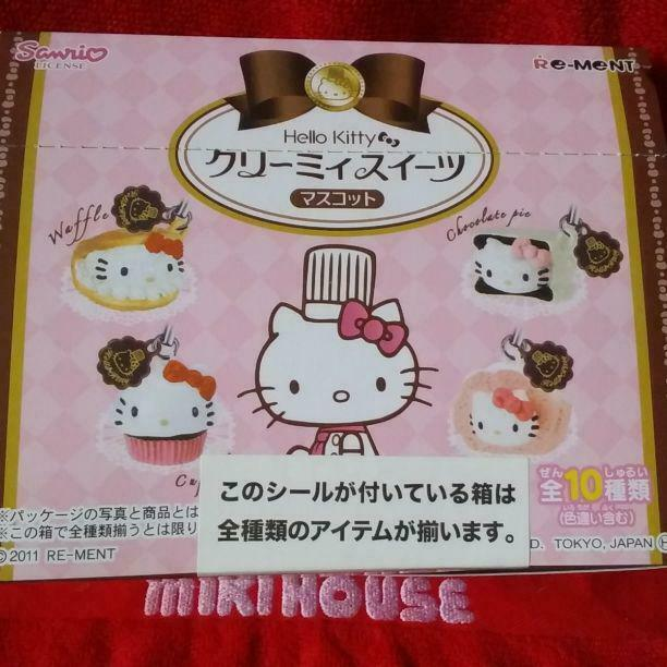 Re-Siet SANRIO Hello Kitty Sweets Miniature Figure Complete set 2011 Rare  10519