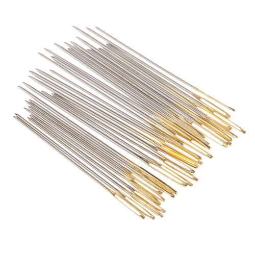 120Pcs Cross Stitch Needles Hand Embroidery Needle Large Eye Size 22 24 26
