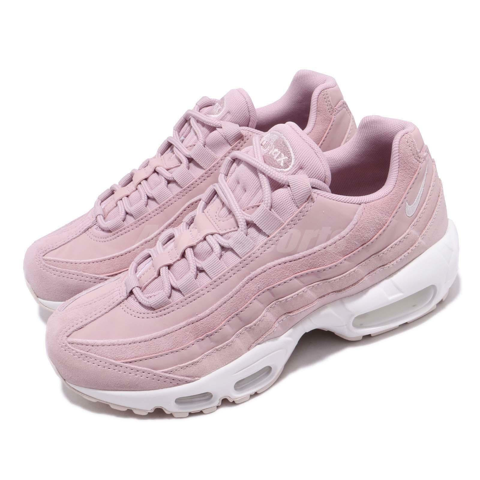 Nike Wmns Air  Max 95 PRM Plum Chalk Barely pink Women Running shoes 807443-503  high discount