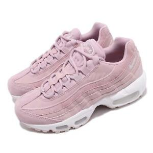 a99854c63150 Nike Wmns Air Max 95 PRM Plum Chalk Barely Rose Women Running Shoes ...