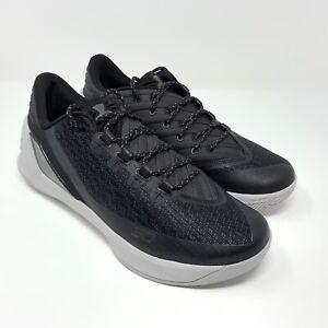 premium selection 0bc1c 66428 Details about Under Armour Men UA Curry 3 Low Basketball Shoes Black Grey  Size 9 1286376-001