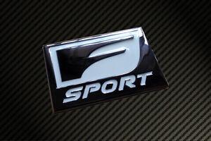 Lexus F Sport Badge Emblem Ct200h Is200 Is250 Is300 Is350 Rx Sc430 Gs250 Gs350 Ebay