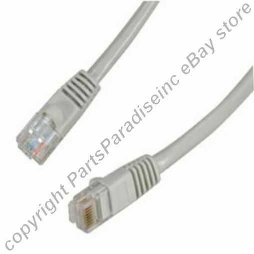 Lot300 PURE COPPER (notCCA) 2ft short RJ45 Cat5e Ethernet Cable/Cord/Wire{GREY{F