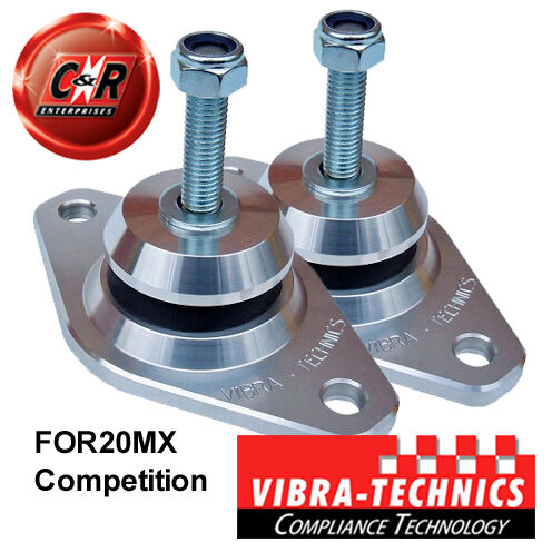2 x Ford Escort Cosworth 4X4 Vibra Technics Engine Mounts Competition FOR20MX