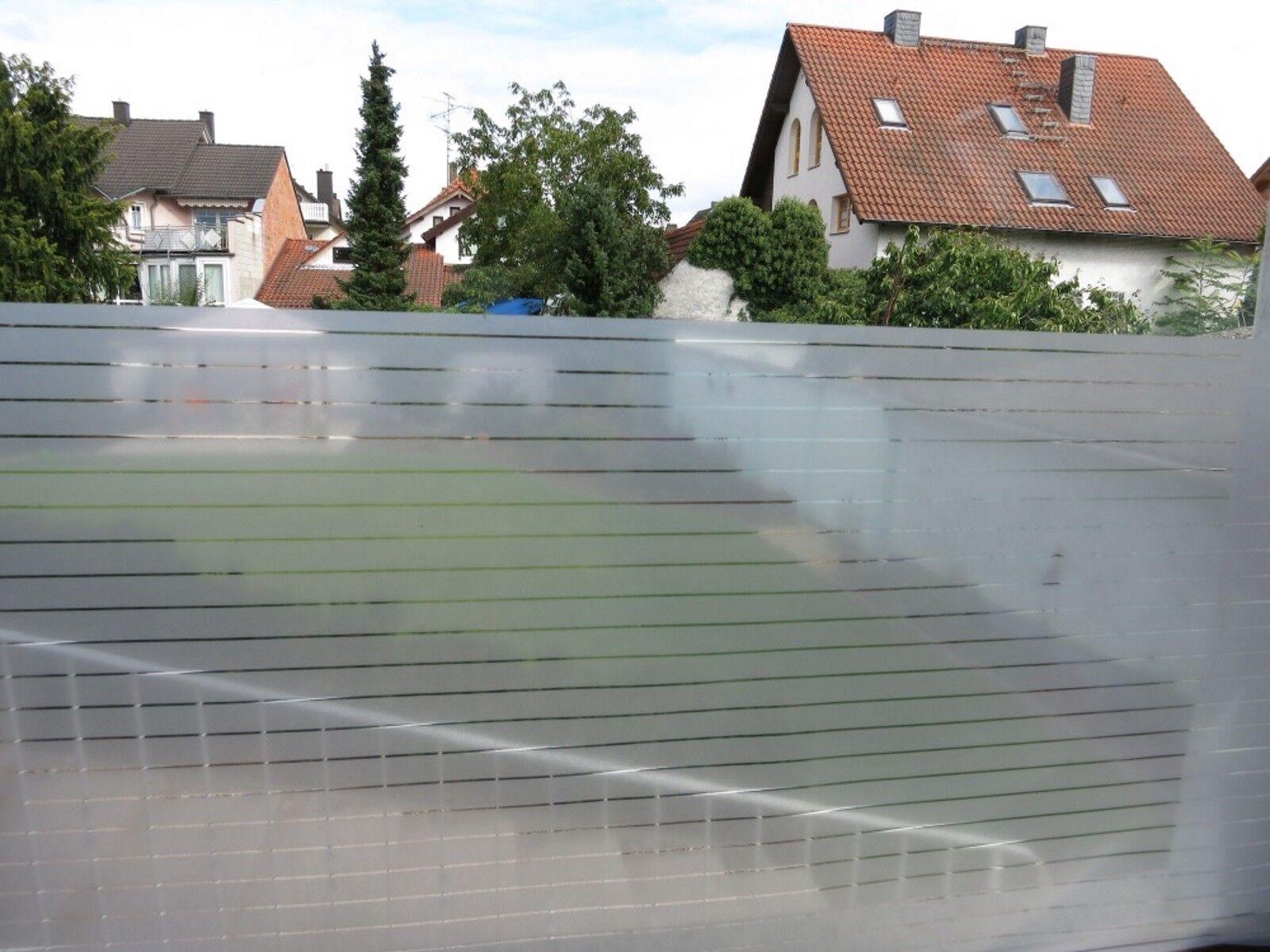 Fensterfolie statisch Mayo Streifen Streifen Streifen Milchglasfolie Sichtschutzfolie Größenwahl   Vogue  0ed86a