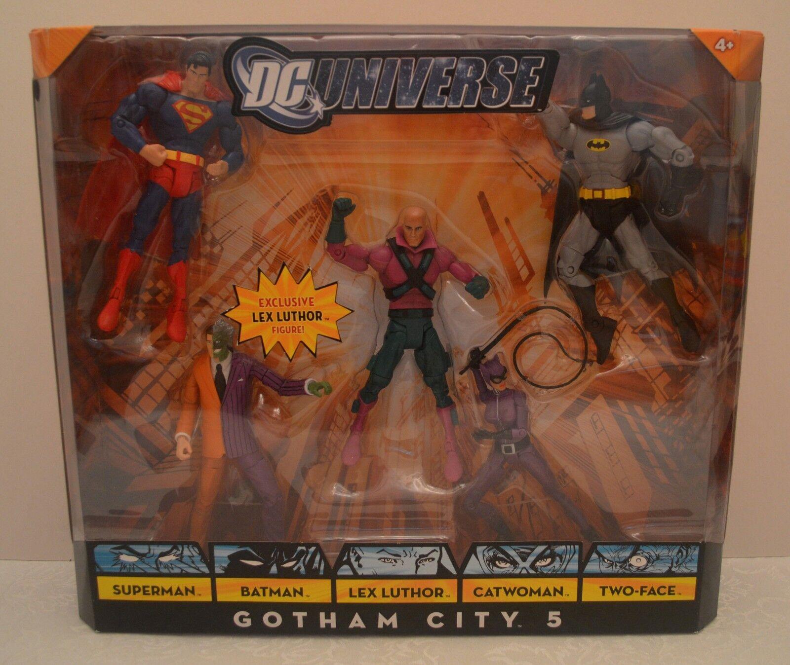 Gotham city 5 werden exklusive lex luthor abbildung dc comics.