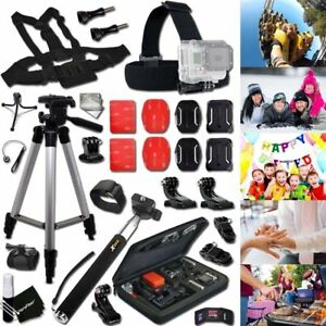 Xtech® FAMILY Acc. Kit w/ Case + Monopod +MORE for GoPro Hero 3+ HERO3+ Edition  701980336164
