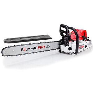 """Baumr-AG SX92 24"""" Easy Start 92cc Petrol Chainsaw"""