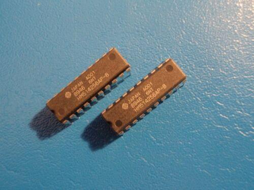 HITACHI HM514256AP-8  262,144-WORD x  4 BIT CMOS DYNAMIC RAM  QTY = 2