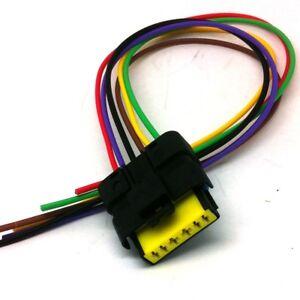 maf c mass air flow meter sensor connector plug wiring harness loom rh ebay co uk