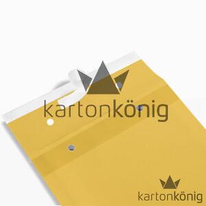 200-x-Gr-K-10-Luftpolster-Taschen-Versandtaschen-Briefe-Umschlaege-Typ-LP-Braun