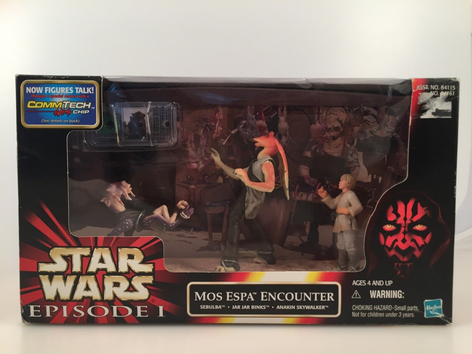 STAR WARS EPISODE I MOS  MOS I ESPA ENCOUNTER — NEW, NEVER OPENED f4f513