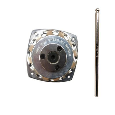 Easy pull starter with Silver CNC turbine for HPI Baja 5B 5T 5SC Losi 5ive T FG