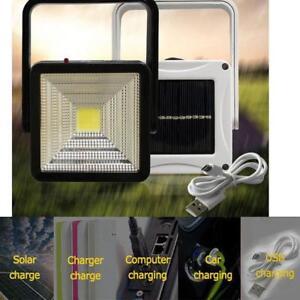 Mini-COB-LED-Camping-Lantern-Solar-Power-Rechargeable-Hiking-Emergency-Light-FT