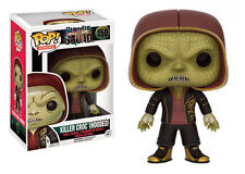 Killer Croc Hooded Suicide Squad Exclusive POP! Heroes #150 Vinyl Figur Funko