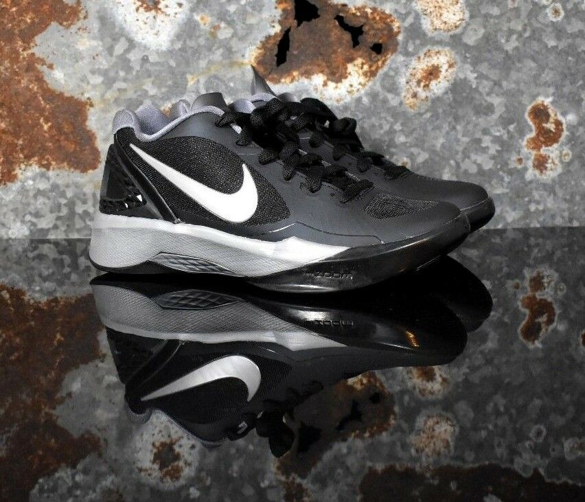 �Nike Women Volley Zoom Hyperspike Volleyball Black Silver 585763-001 Multi Sz