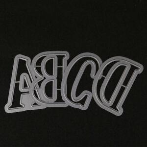 5cm diy metal cutting dies alphabet a z letters die cuts paper craft