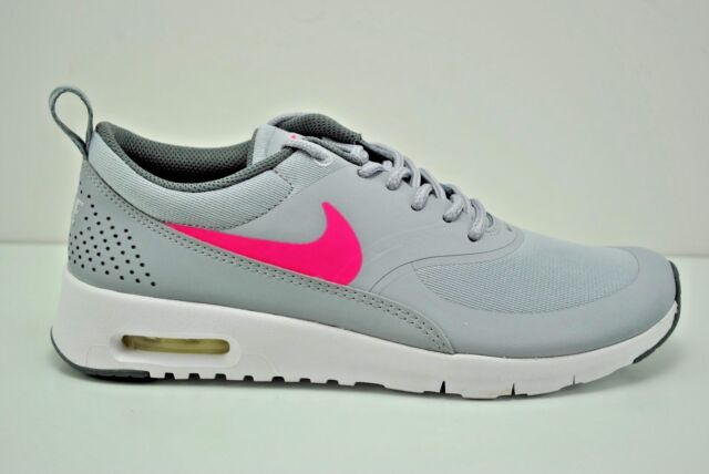 san francisco 8949b 6e7c6 Nike Air Max Thea (GS) Running Shoes Grey Pink White Various Sizes 814444  002